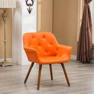 Save & Orange Tufted Chair | Wayfair