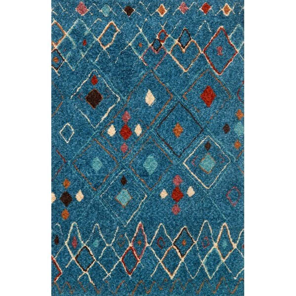 Zambrano Blue Area Rug by Bloomsbury Market