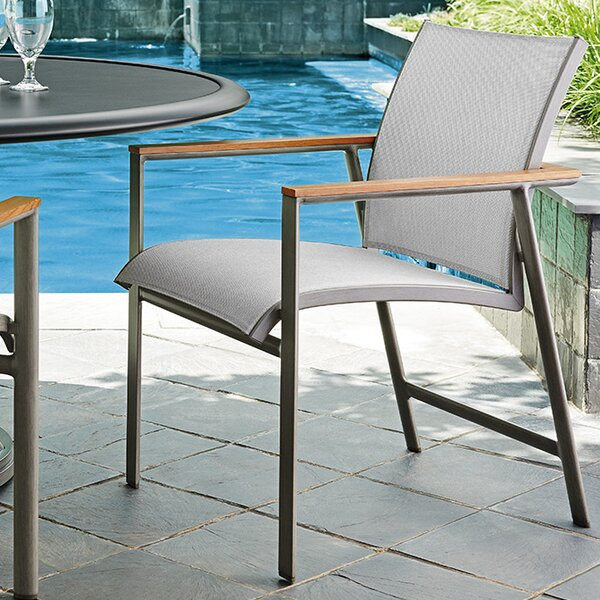 Del Mar Teak Patio Dining Chair by Tommy Bahama Ou