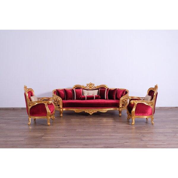 Donegan 3 Piece Living Room Set by Astoria Grand Astoria Grand