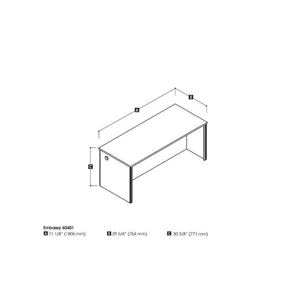 Lexington Desk with Hutch by Zipcode Design