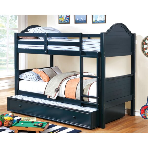 Jepson Twin over Twin Bunk Bed by Harriet Bee