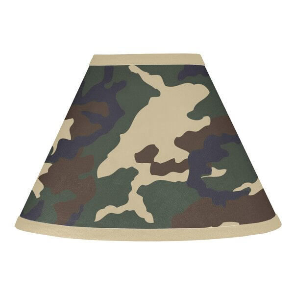 Camo 10 Cotton Empire Lamp Shade by Sweet Jojo Designs