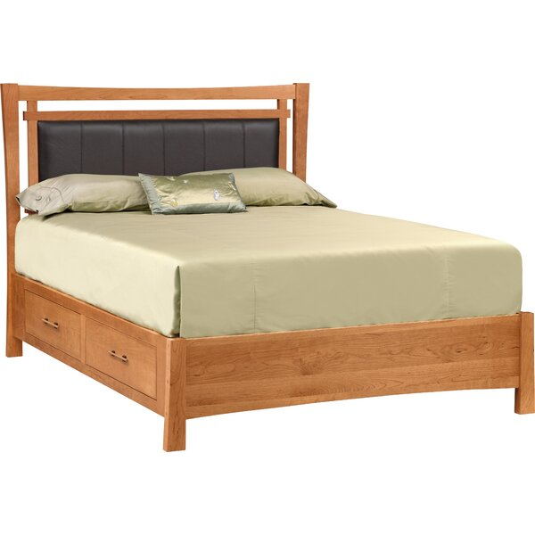 Monterey Upholstered Storage Platform Bed by Copeland Furniture