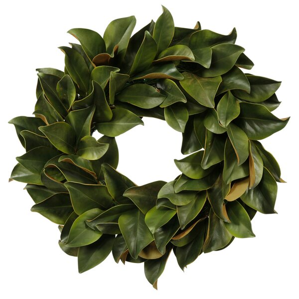Magnolia Leaf Wreath by Jane Seymour Botanicals