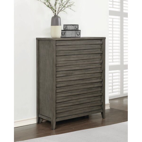 Wingard 5 Drawer Chest by Foundry Select