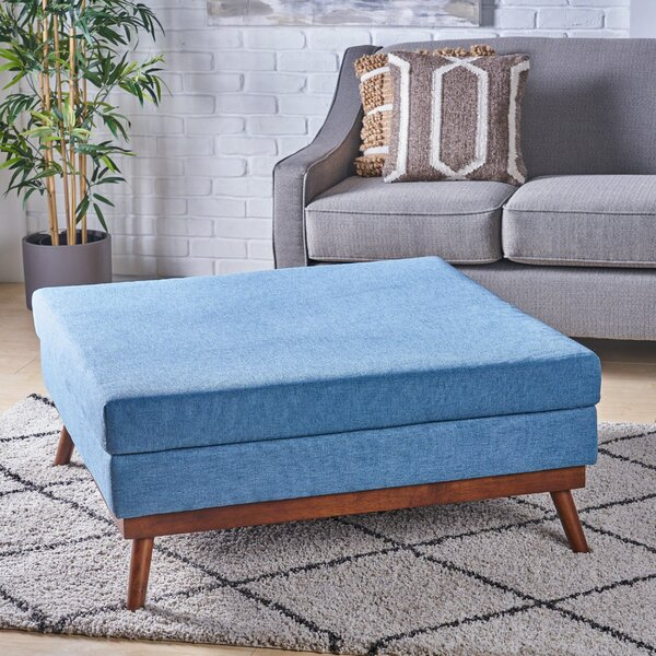 Cameron Mid Century Ottoman by Modern Rustic Interiors