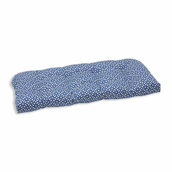 In the Frame Indoor/Outdoor Loveseat Cushion by Pillow Perfect