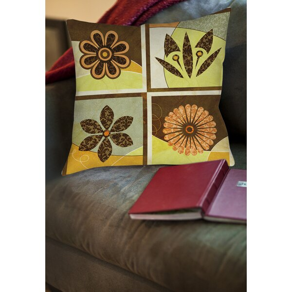 Graphic Garden Sydney Printed Throw Pillow by Manual Woodworkers & Weavers
