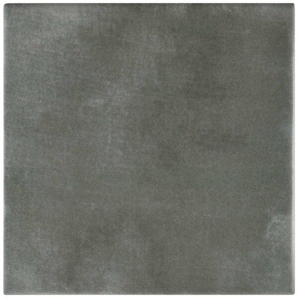 Haute 5.88 x 5.88 Ceramic Field Tile in Gray by EliteTile