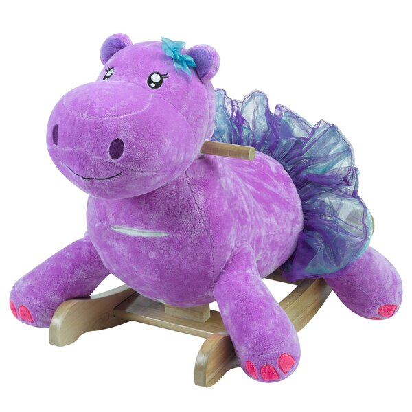 Gracie the Hippo Rocker by Rockabye