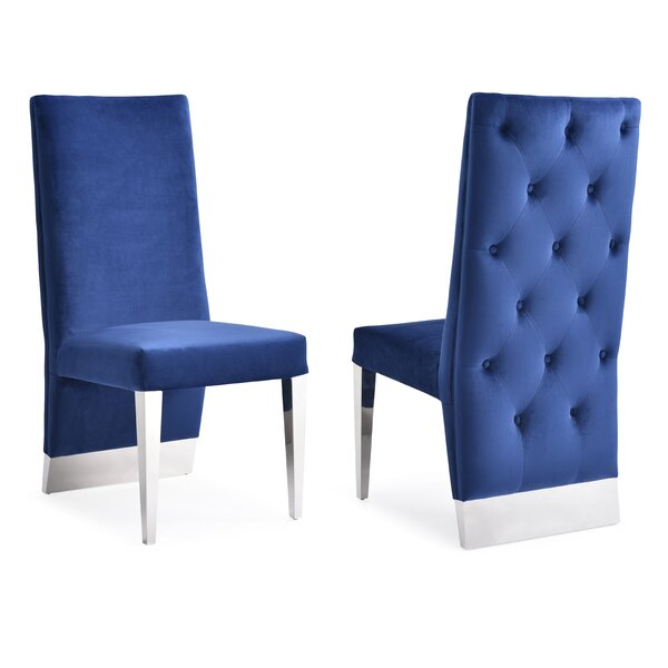 Brillion Upholstered Dining Chair (Set of 2) by Orren Ellis