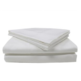 Affordable Nanotex 400 Thread Count Cotton Sateen Sheet Set By Design Studio