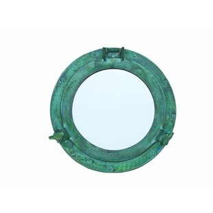 Breakwater Bay Nagy Deluxe Class Titanic Shipwrecked Decorative Ship Porthole Wall Mounted Mirror