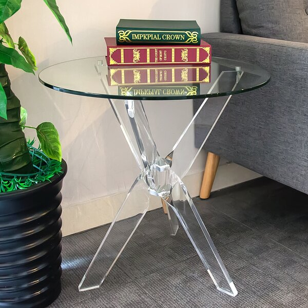 Entrada End Table by Orren Ellis