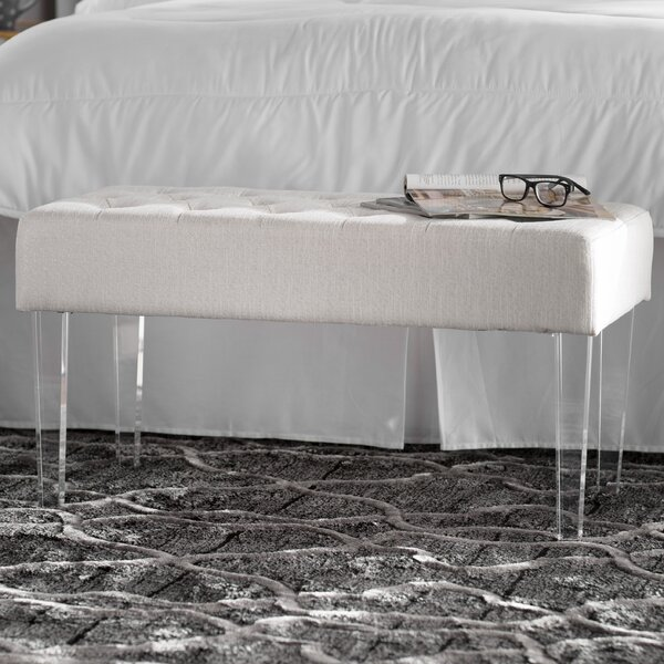Resendez Upholstered Bench By Wrought Studio
