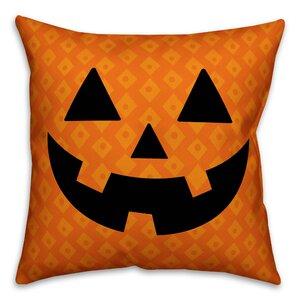 O'Lantern Throw Pillow
