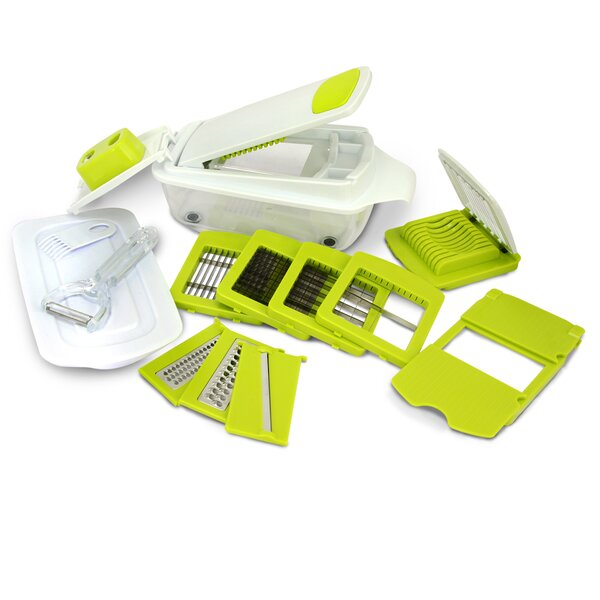 8-Piece Slicer Dicer and Chopper Set by Mega Chef