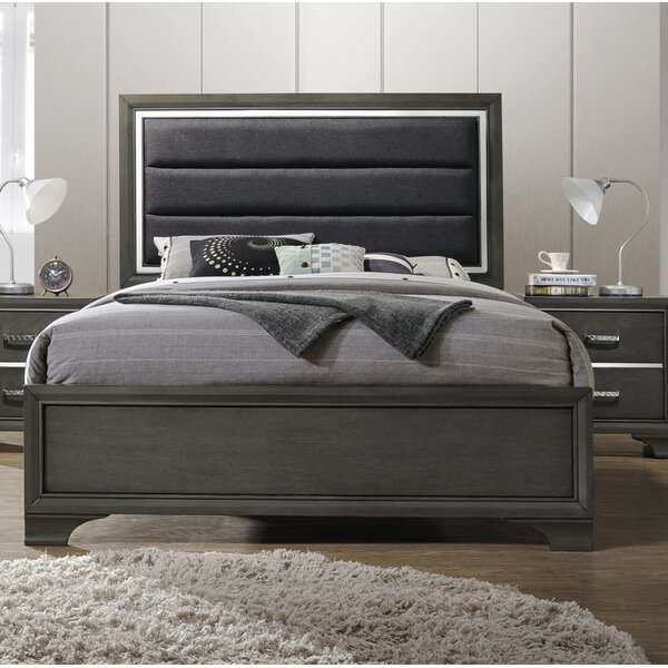 Hunedoara Upholstered Standard Bed by Modern Rustic Interiors
