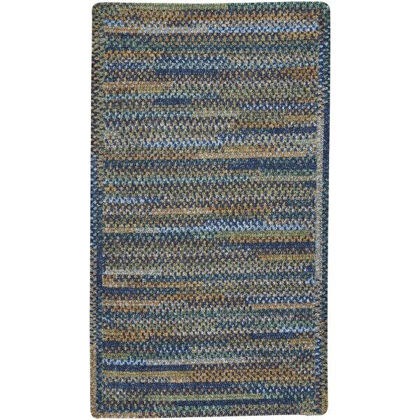 Eben Ocean Blue Area Rug by August Grove