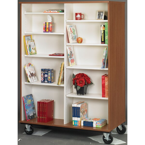 Mobiles Double Sided Bookcase by Stevens ID Systems