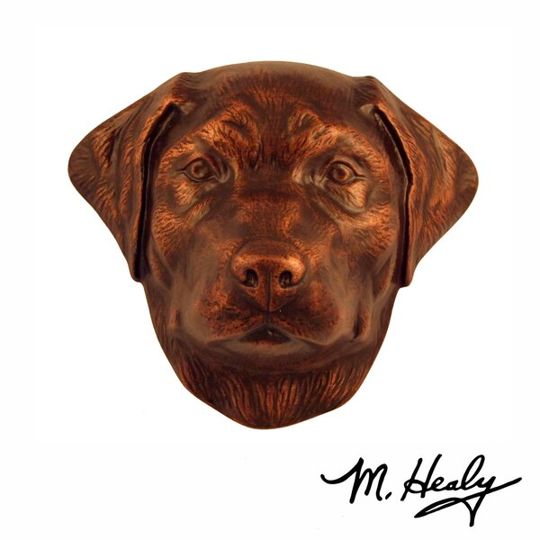 Labrador Retriever Door Knocker by Michael Healy Designs