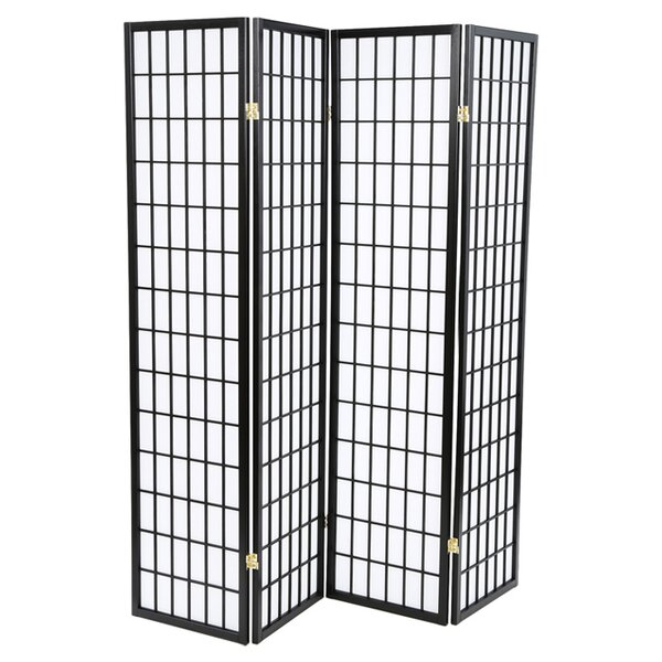 Quincy Japanese 4 Panel Room Divider by Wildon Home ®