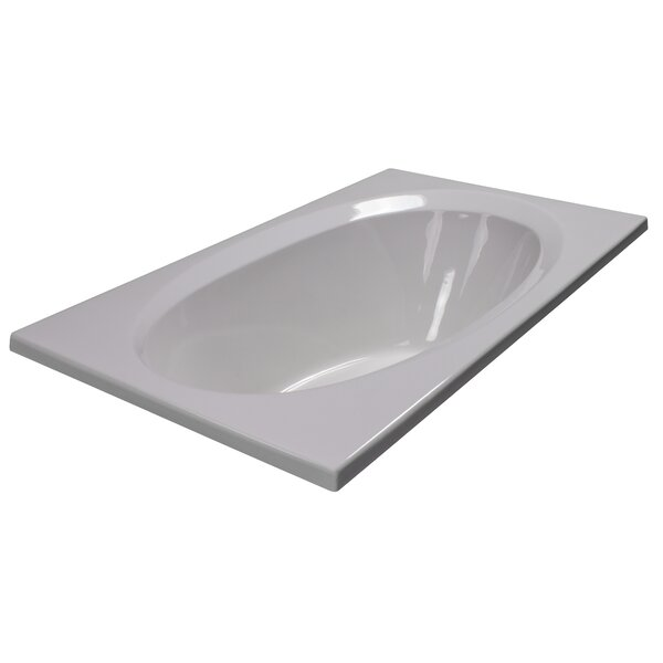 60 x 36 Soaker Bathtub by American Acrylic