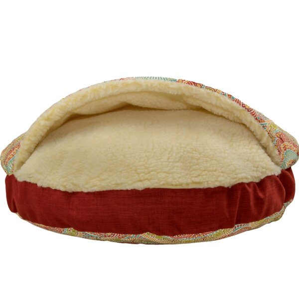 Wag Indoor/Outdoor Cozy Cave Hooded Dog Bed by Snoozer Pet Products