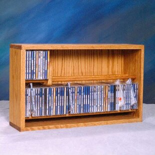 110 CD Multimedia Tabletop Storage Rack by Rebrilliant