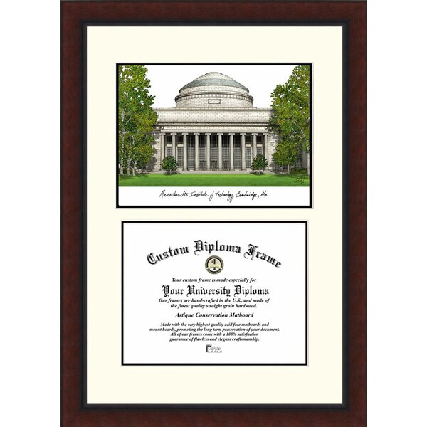 NCAA MIT Legacy Scholar Diploma Picture Frame by Campus Images