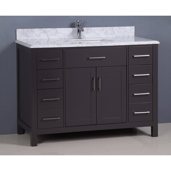 Prestwick 48 Single Bathroom Vanity Set by Breakwater Bay