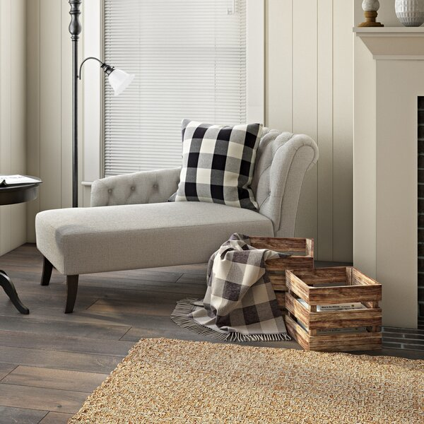 Mayzie Chesterfield Back Chaise Lounge By Latitude Run
