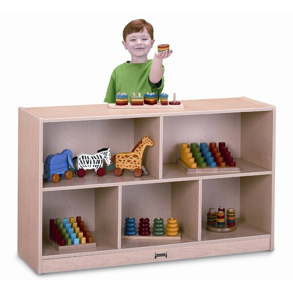 Super Sized Single 8 Compartment Shelving Unit with Casters by Jonti-Craft