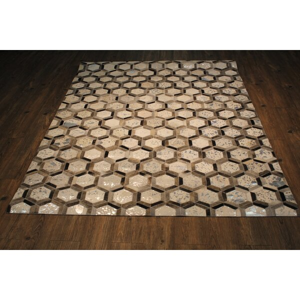 Cloverdale Silver/Gray Area Rug by Foundry Select