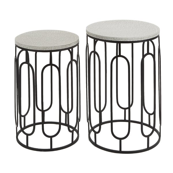 Markowitz 2 Piece Nesting Tables By Wrought Studio
