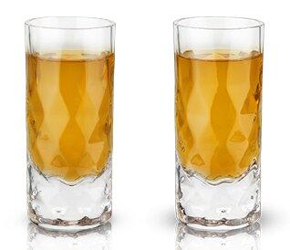 Raye™ Gem Crystal 2 oz. Shot Glass (Set of 2) by Viski
