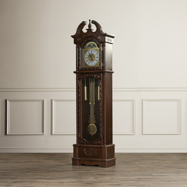 81.5 Grandfather Clock by Darby Home Co