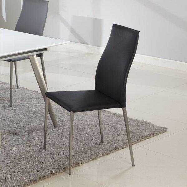 Bisa Upholstered Dining Chair (Set Of 4) By Orren Ellis