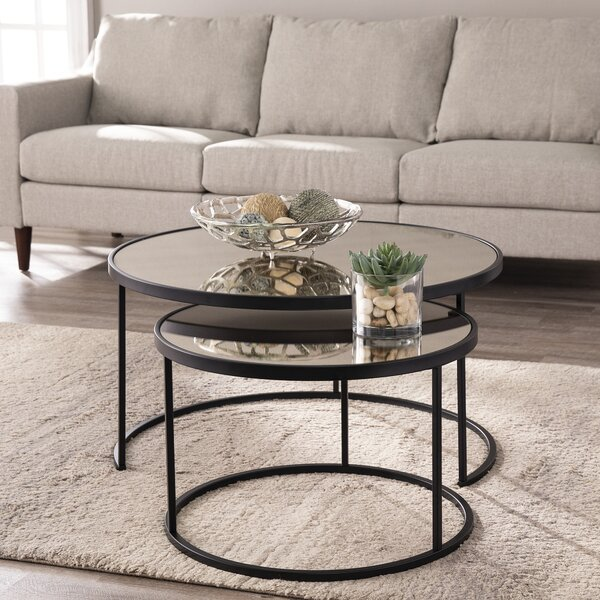 Downham 2 Piece Coffee Table Set by Mercer41 Mercer41