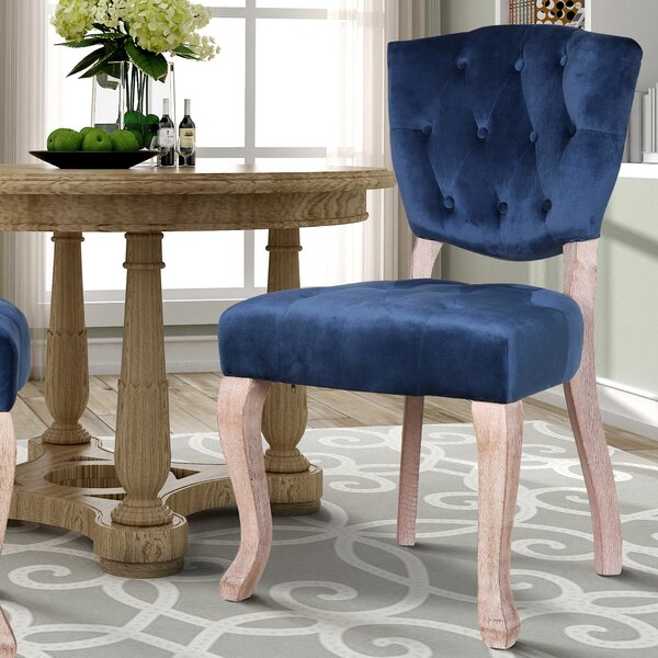 Wachtel Upholstered Dining Chair (Set of 2) by Ophelia & Co.