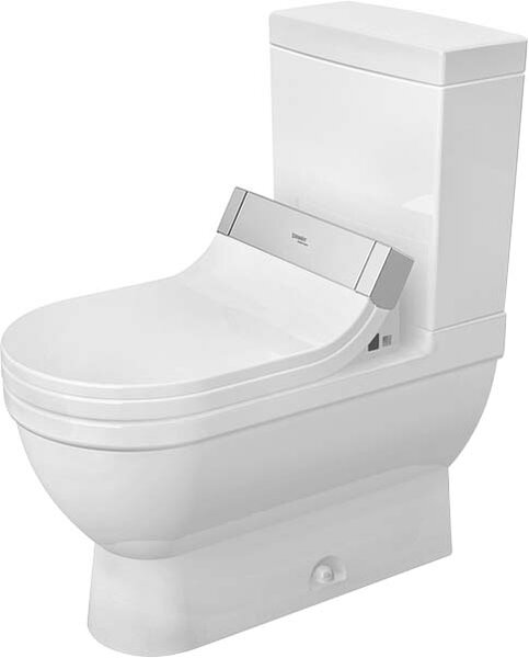 Starck 3 1.28 GPF (Water Efficient) Elongated Two-Piece Toilet (Seat Not Included) by Duravit
