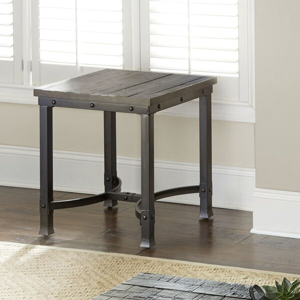 Carrillo End Table by Loon Peak Loon Peak