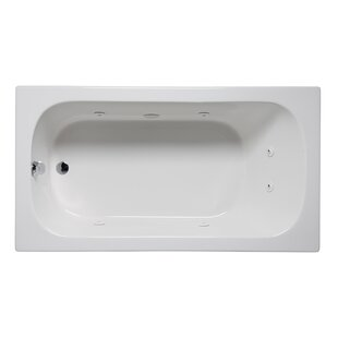 Miro 66 x 36 Drop in Whirlpool Bathtub