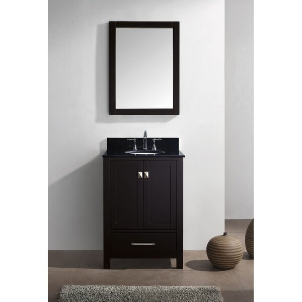 Serigne 24 Single Bathroom Vanity Set with Mirror by Willa Arlo Interiors
