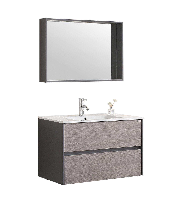 Wall Mount Single Bathroom Vanity Set