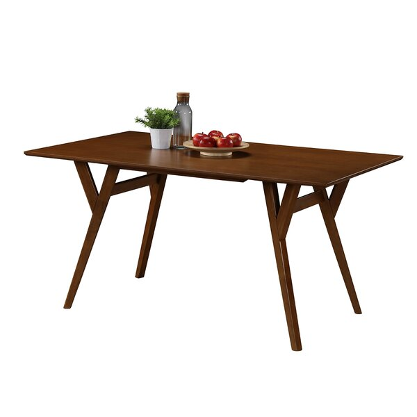 Buckleton Rectangular Wood Dining Table by George Oliver