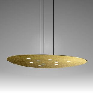 Scudo 9-Light Geometric Chandelier By ZANEEN design