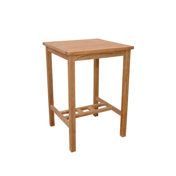 Avalon Solid Wood Bar Table by Anderson Teak