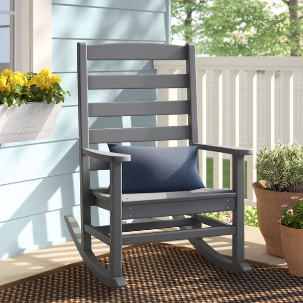 Polywood® Modern Porch Rocking Chair by Sol 72 Outdoor